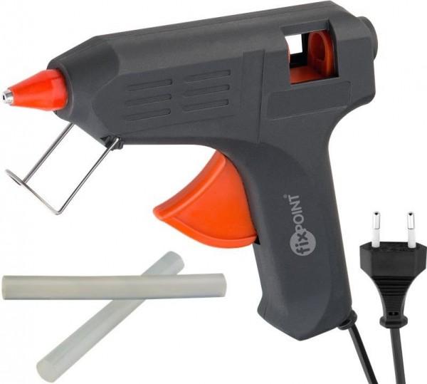 Heißklebepistole für 12 mm Sticks; 40 W inkl. 2 Klebesticks