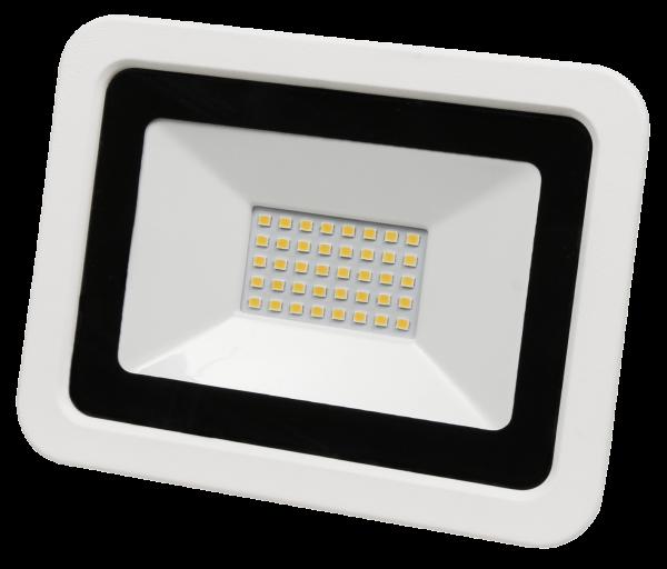 LED-Außenstrahler McShine ''SMD-Slim'' 30W, 2100Lumen, 3000K, warmweiß, IP44