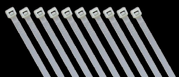 Kabelbinder McPower, naturfarben, 140x3,6 mm, 100er-Beutel