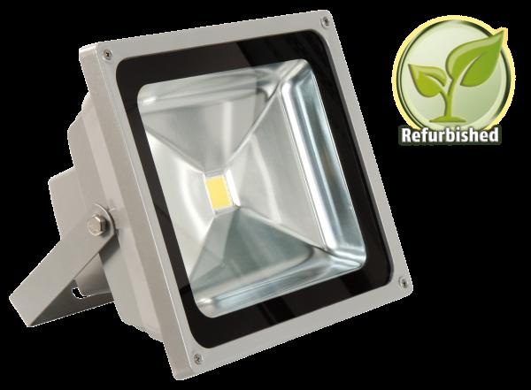 Refurbished LED-Außenstrahler McShine, 50W, IP44, 4.500 lm, 3000K, warmweiß