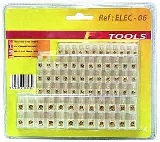 LŸüsterklemmen-Sortiment McPower, 6-teilig: 1x4 A, 3x6 A, 2x10 A, jeweils 12-polig