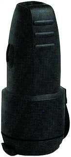 Gummi-Schutzkontakt-Kupplung McPower, schwarz, spritzwassergeschüŸtzt, mit Deckel