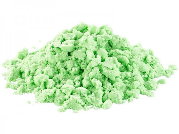 Playtastic Sand Kneten Kinetischer Sand formbar und formstabil fein grün 500g