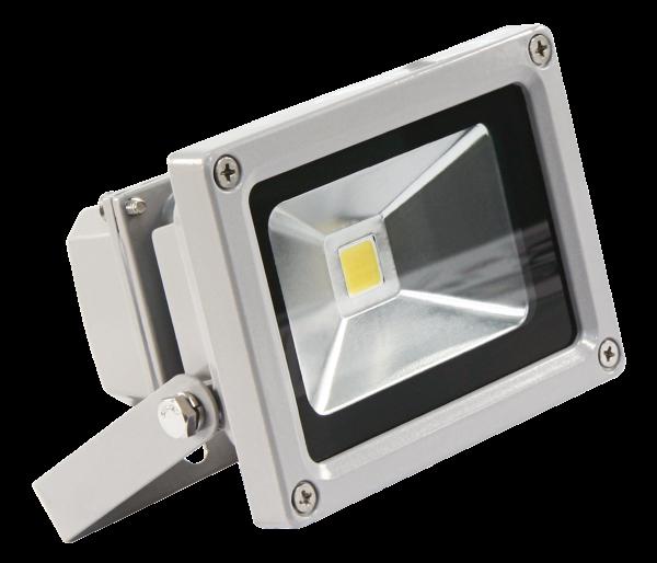 LED-Außenstrahler McShine, 10W, IP44, 900 lm, 3000K, warmweiß