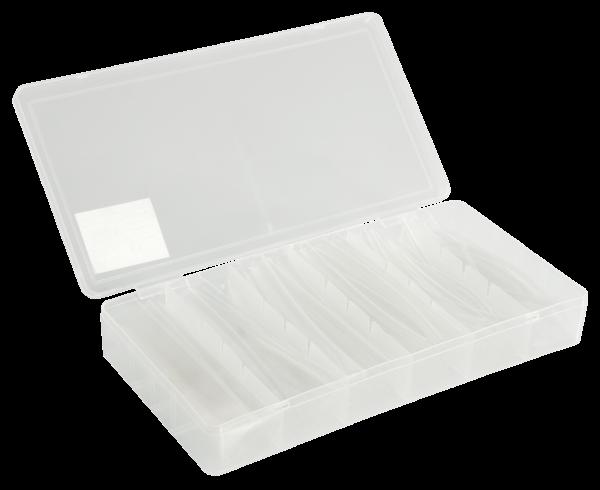 Schrumpfschlauch-Set McPower, 100-teilig in Sortimentsbox, transparent