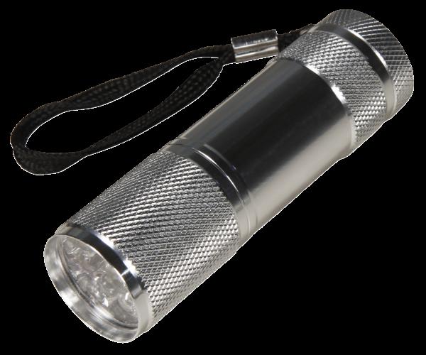 LED-Taschenlampe McShine mit 9 LEDs, 1er-Blister