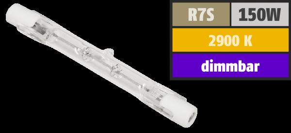 Halogen-Leuchtstab McShine, 230V / 150W, 78mm, Sockel R7s, 2.000h (füŸr Arbeitsleuchten)