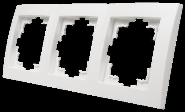 Rahmen McPower ''Flair'', 3-fach, weiß