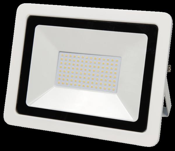 LED-Außenstrahler McShine ''SMD-Slim'' 100W, 6700Lumen, 3000K, warmweiß, IP44