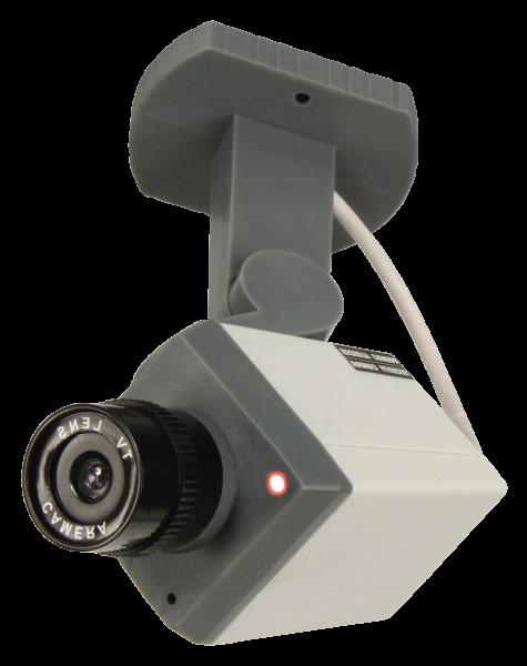 Dummy-Kamera McEye ''SKA-98'', Bewegungsmelder, Schwenk-Funktion, LED, Batteriebetrieb