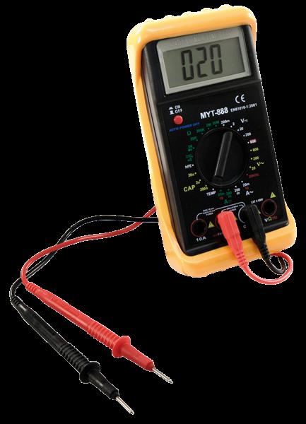 Digital Multimeter McPower MYT-888 Strom Spannung Widerstand Tempertur Frequenz