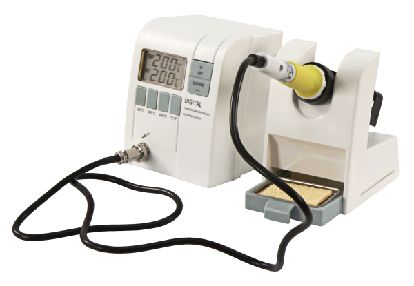 Digitale Lšötstation McPower ''LS-1000W'', 230V/50 Hz, 48W-Lšötkolben, 150-450 °C, weiß