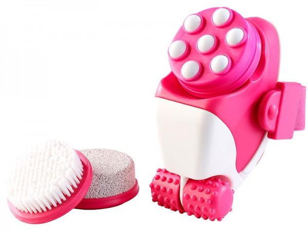 Massageroller: 4in1 wasserdichtes Hautpflege- & Massage-Set