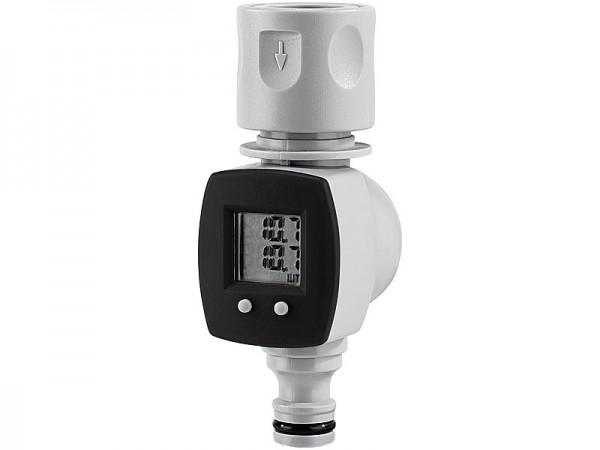 Digitaler Wasserzähler für den Garten