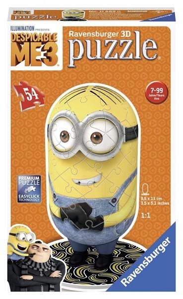 Ravensburger Erwachsenenpuzzle 11669 Jeans Minion 3D-Puzzle