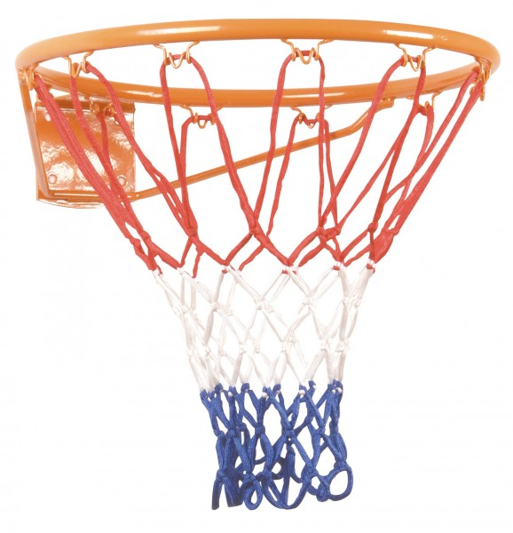 Hudora 71700 - Outdoor-Basketballkorb mit Netz Metall inkl Befestigungsmaterial