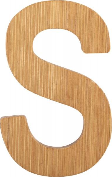 ABC Buchstaben Bambus S