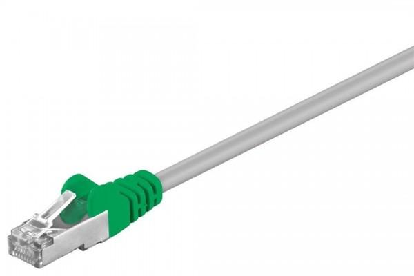 CROSSOVER Netzwerkkabel FTP RJ45 gekreuzt grau 5m