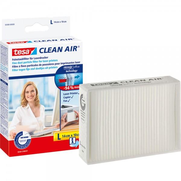tesa Clean Air Feinstaubfilter für Laserdrucker, Größe S