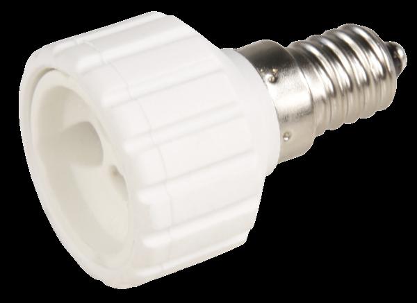 Lampensockel Adapter, McShine E14 auf GU10