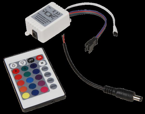 RGB-Controller füŸr LED-Bodenleuchte McShine ''Fine'', inkl. Fernbedienung