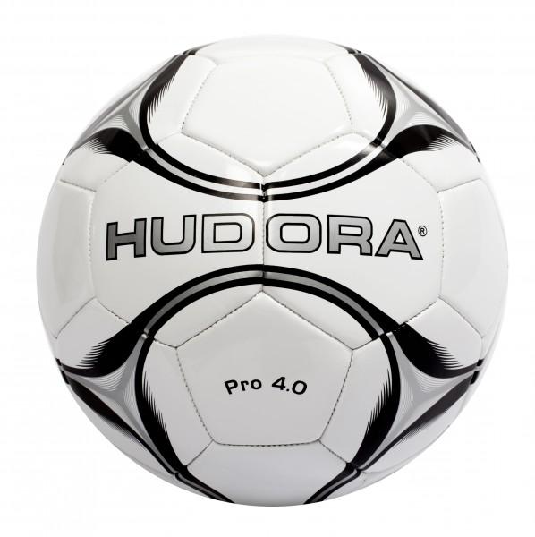 Hudora Fußball Pro 4.0 Gr. 5 unaufgepumpt (71673/XX) | Fussball Freizeit Ball