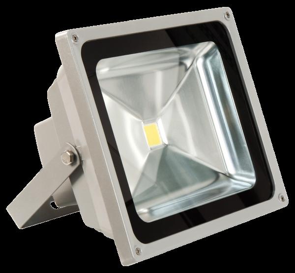 LED-Außenstrahler McShine, 50W, IP44, 4.500 lm, 4000K, neutralweiß