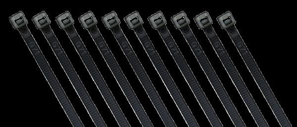 Kabelbinder McPower, schwarz, 370x3,6 mm, 100er-Beutel