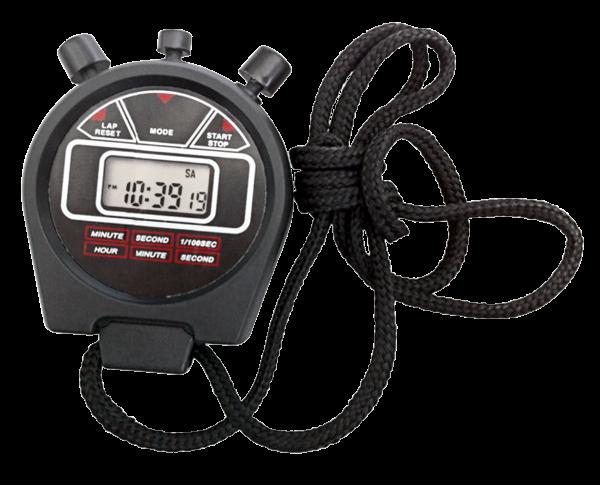 """Stoppuhr mit Digital-Anzeige """"Digi-937"""" 1/100Sek. Stop Uhr Zeitmesser Stopuhr"""
