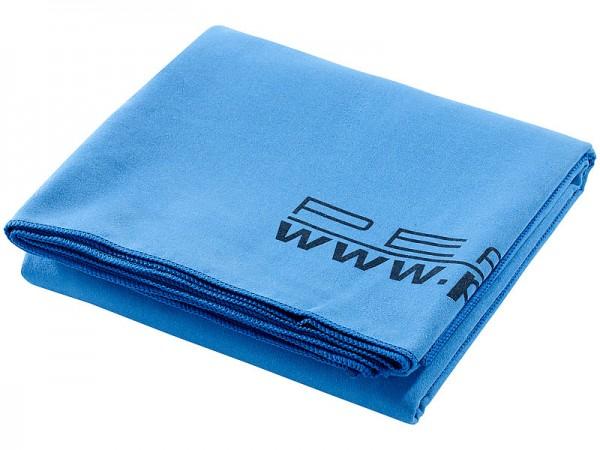 Extra-saugfähiges Mikrofaser-Badetuch, 180 x 90 cm, blau