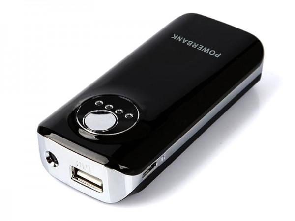 Powerbank 5600mAh (RP-051, Schwarz) Ersatzakku USB