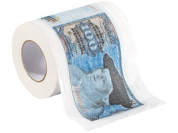 """infactory Farbiges Klopapier: Retro-Toilettenpapier """"100 D-Mark"""", 2 Rollen"""