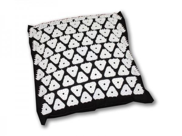 Shanti Akupressur Kissen / Nail Pillow (34 x 34 x 11 cm, Schwarz)
