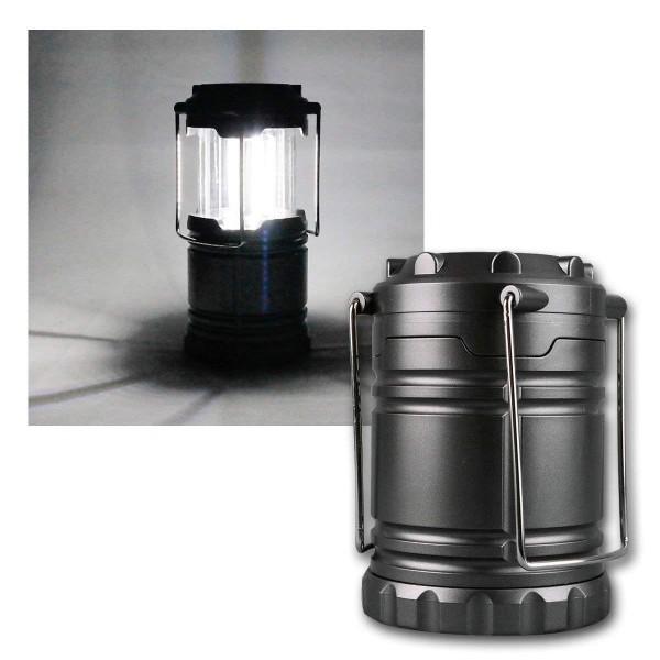 LED Campingleuchte McShine ''CL-33'', 3W COB LED, 3x AA-Batterie