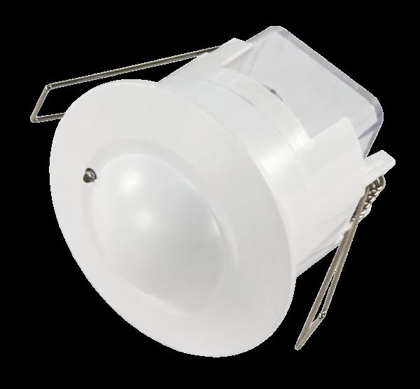 Mikrowellen-Bewegungsmelder McShine ''LX-753'', 360°, 230V / 1.200W, weiß, Unterputz, LED geeignet