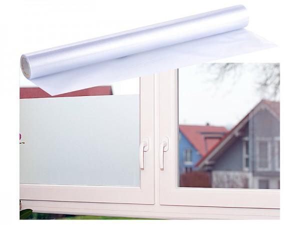 Milchglasfolie, statisch haftende Sichtschutz-Folie, 40 x 200 cm