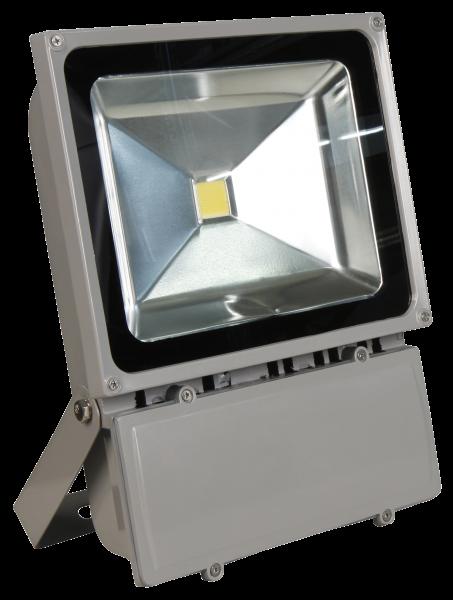 LED-Außenstrahler McShine, 100W, IP44, 9.000 lm, 4000K, neutralweiß