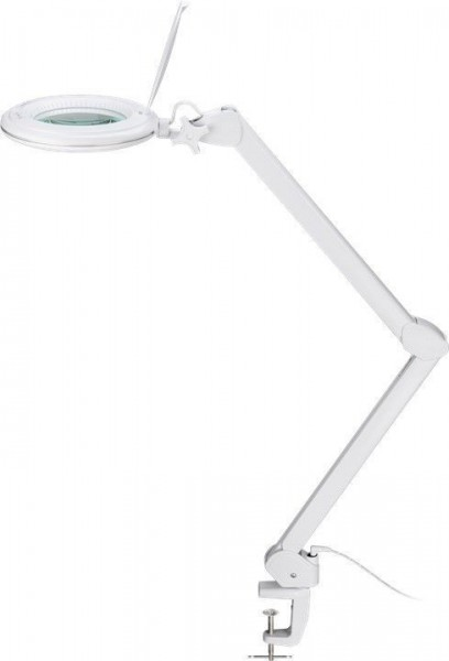 LED Klemm-Lupenleuchte, 1~9W; 3 Dioptrien 6 Stufen dimmbar