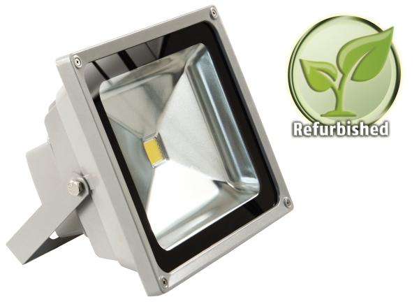 Refurbished LED-Außenstrahler McShine, 50W, IP44, 4.500 lm, 4000K, neutralweiß