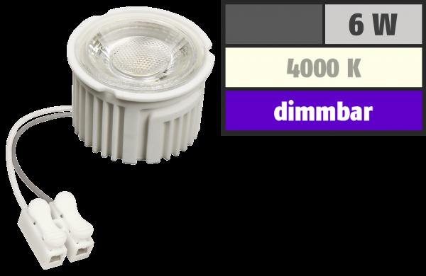 LED-Modul McShine ''MCOB'' 6W, 400lm, 230V, 50x33mm, neutralweiß, 4000K, dimmbar