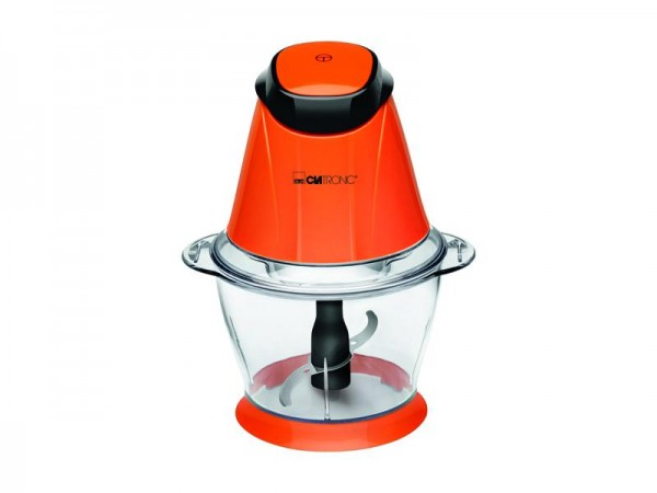 Clatronic 2in1 Multizerkleinerer Mixer orange Ice Crusher Standmixer Zerkleinern