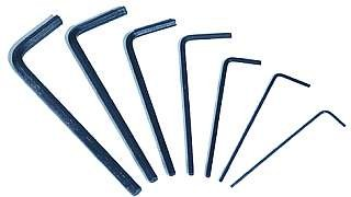 InnensechskantschlüŸssel-Set McPower ''Mini-7'', 7-teilig, 0,7-3 mm