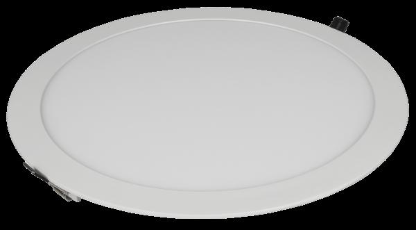 LED-Panel McShine ''LP-2430RW'', 24W, 300mm-Ø, 1.680 lm, 3000K, warmweiß