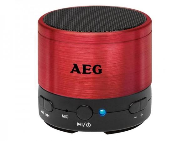 AEG Lautsprecher Bluetooth Sound System BSS 4826 rot