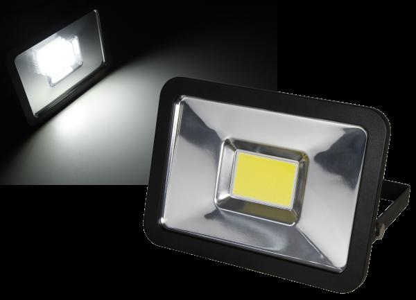 LED-Außenstrahler McShine ''Slim'' 30W, IP44, 2.250 lm, 4000K, neutralweiß