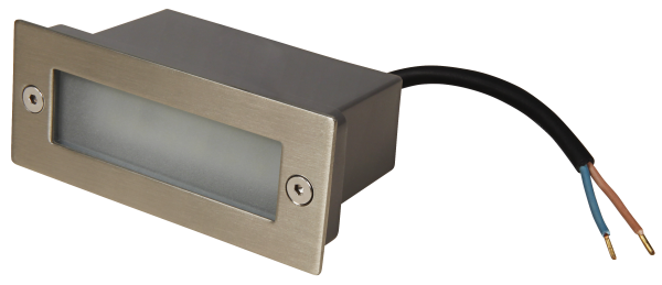 LED-Einbauleuchte McShine ''LER-12W'', weiß, 12 LEDs, 110x44mm