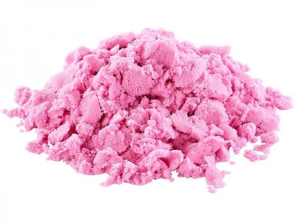 Playtastic Kinder-Sand Kinetischer Sand formbar und formstabil fein pink 500 g