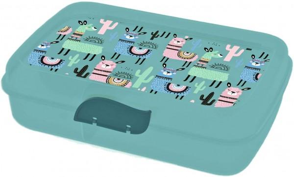 Lunchbox Lama mit Trennfach