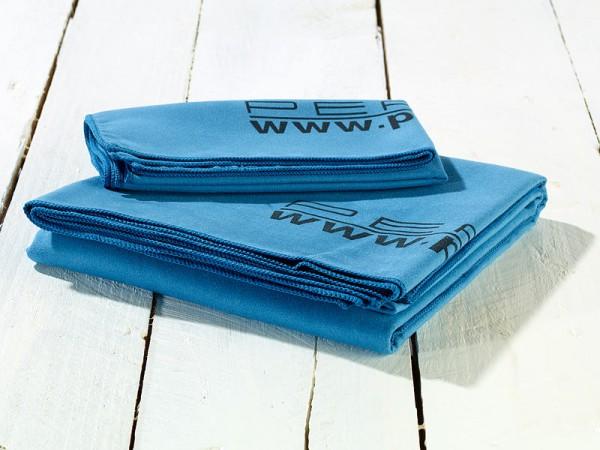 Extra saugfähiges Mikrofaser-Handtuch 80 x 40 cm, blau