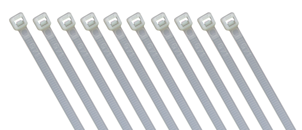 Kabelbinder McPower, naturfarben, 300x4,8 mm, 100er-Beutel